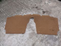 MAZDA MX5 EUNOS (MK1 1989 - 97) REAR BULKHEAD CARPET - BEHIND SEATS  TAN COLOUR